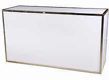 Bar  Plexi 6' - Blanc