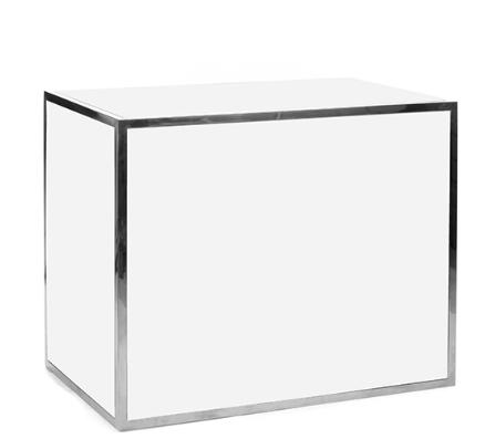 Bar  Plexi 4' - Blanc