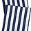 Thumbnail: Chemin de table rayé bleu & blanc