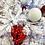 Thumbnail: Ornement motif blanc 5''