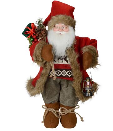 Décoration Noël - Père Noël Ski
