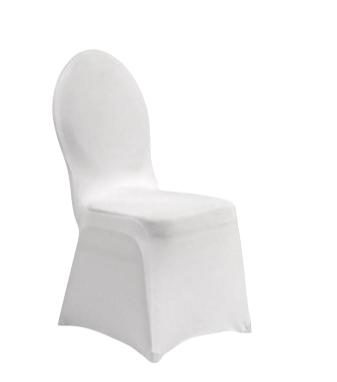 Housse de chaise lycra - Blanc