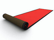 Tapis rouge Deluxe 3' x 20'