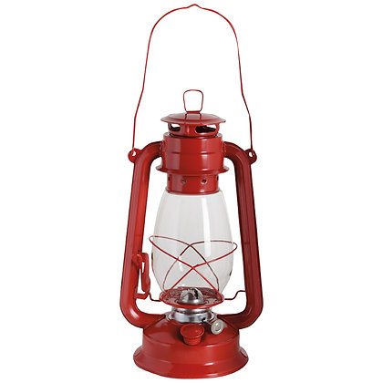 Lampe huile - Rouge