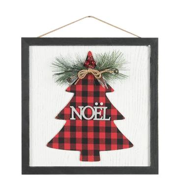 Décoration Noël - Cadre sapin Noël