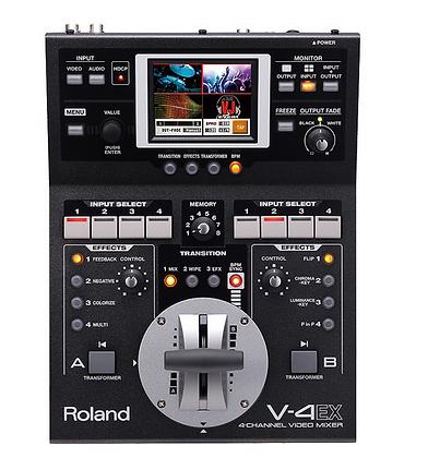 Console vidéo Roland V-4EX