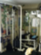 personal training, calf machine in personal training studio