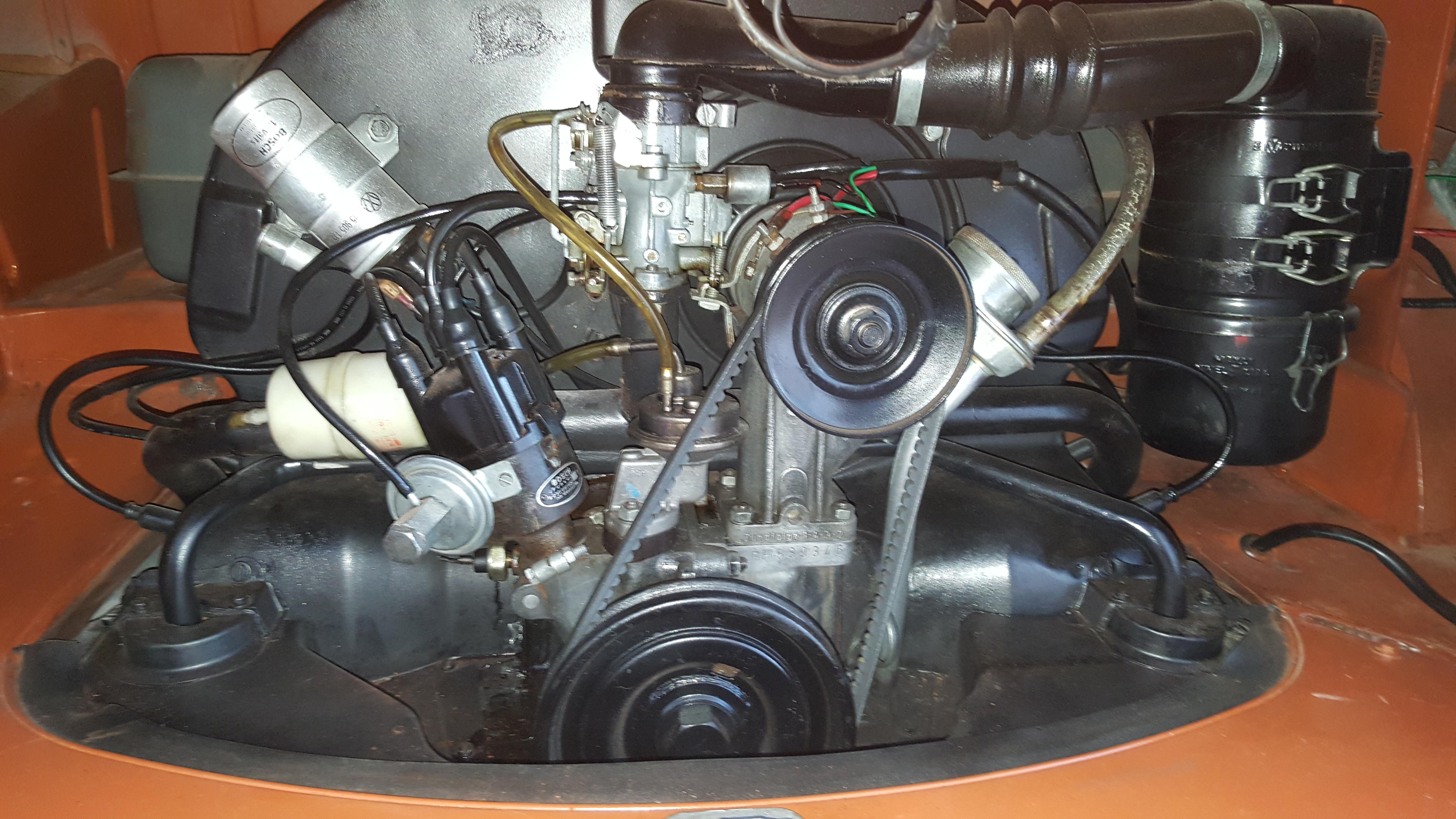 Ernie 1973 split screen kombi