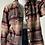 Thumbnail: Multi-Pattern Cotton Jacket |L|