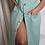 Thumbnail: Vintage Linen Sleeveless Blazer Dress |XL|