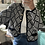 Thumbnail: Vintage Semi-Cropped Knit Cardigan |M|