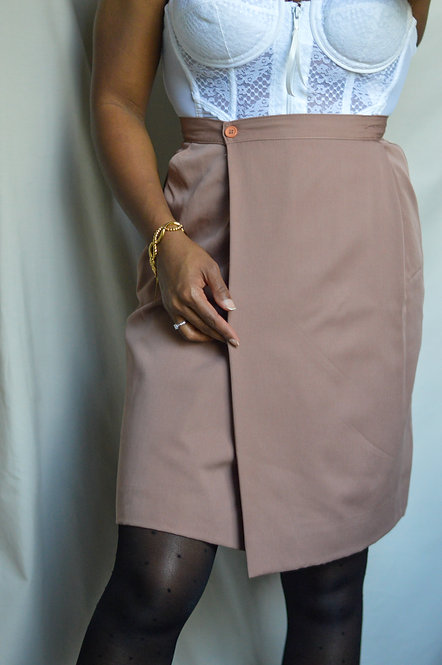 Vintage Christian Dior Wrap Skirt |8|