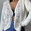 Thumbnail: Vintage Floral Embroidered Cardigan |