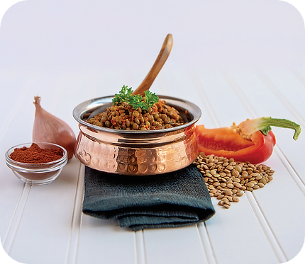 Moroccan Spiced Lentils