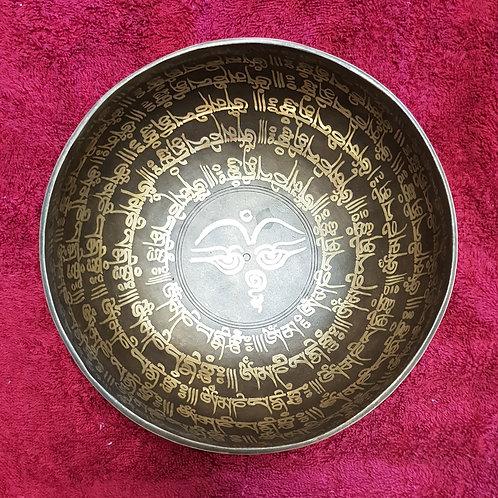 Sacred Sanskrit Bowl