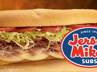 Jersey Mike's Booking!