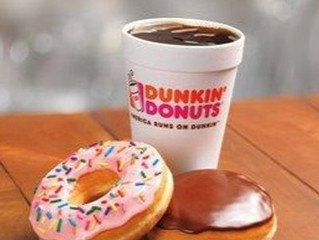 More Dunkin bookings!
