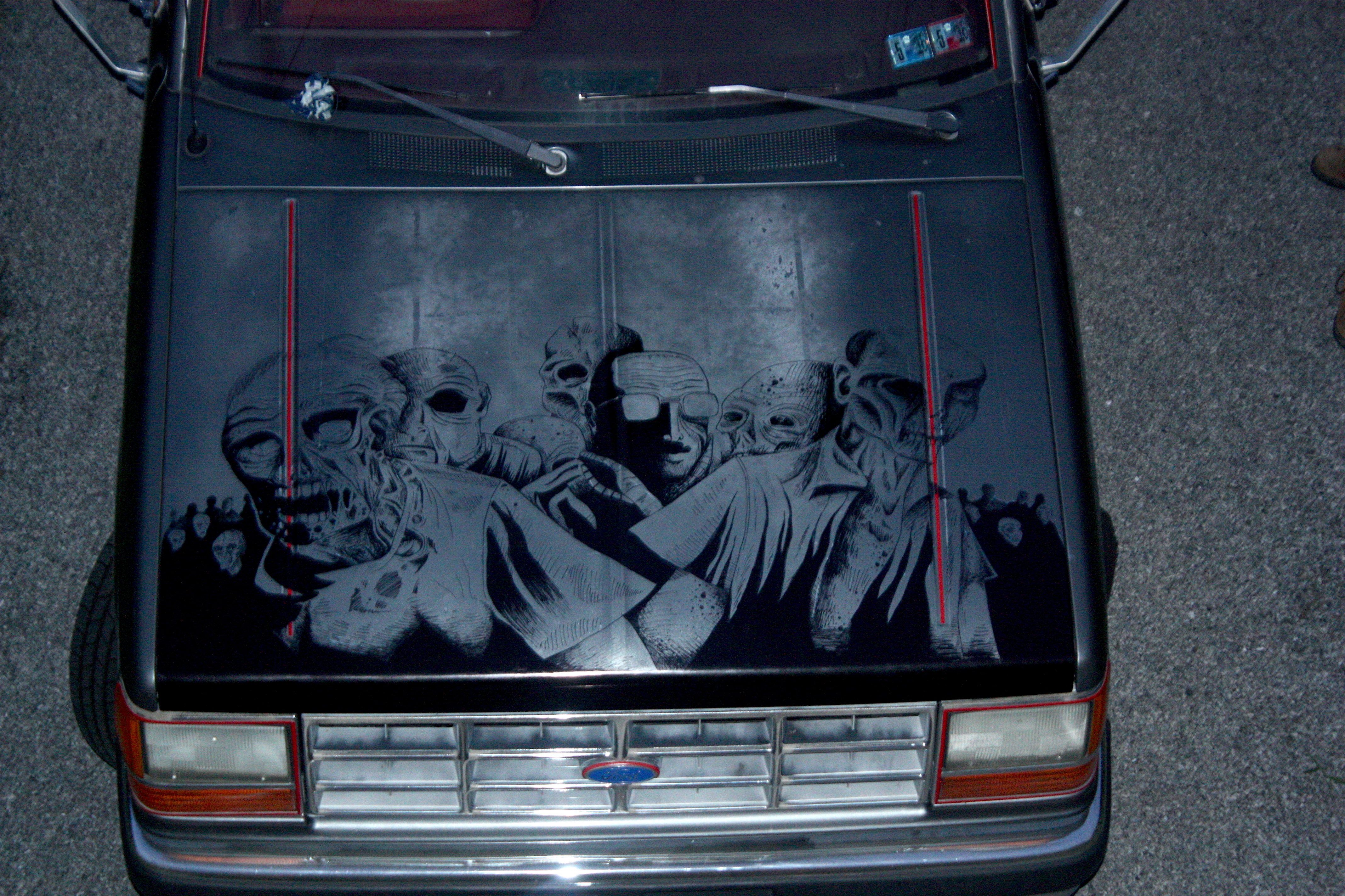 The Zombie Pickup Truck