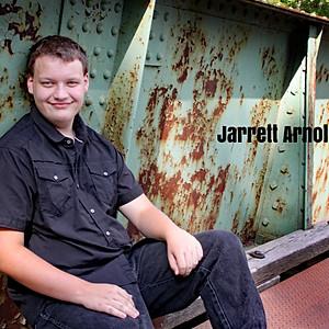 Senior Jarrett Arnold