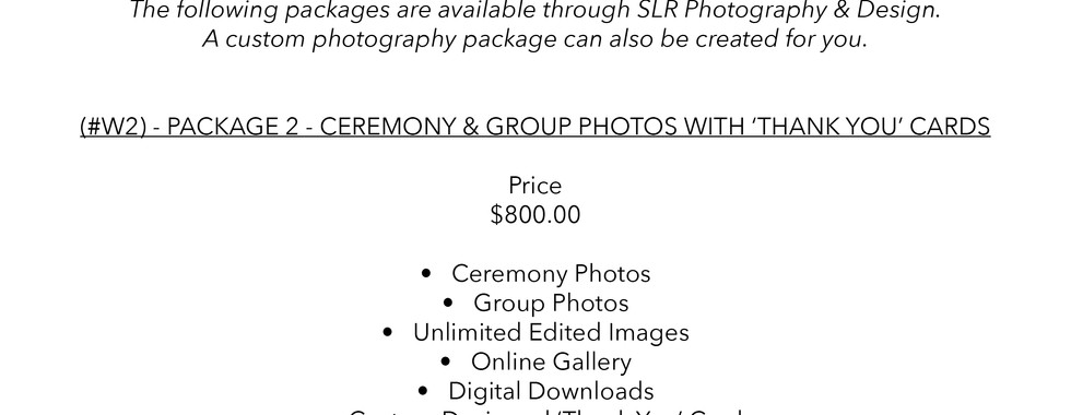 SLR Photography & Design price sheet -8.