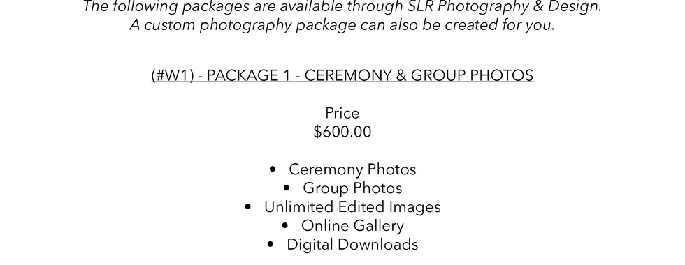SLR Photography & Design price sheet -7.