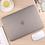 Thumbnail: เคส Macbook สีเทา ผิวด้าน ไม่เจาะโลโก้