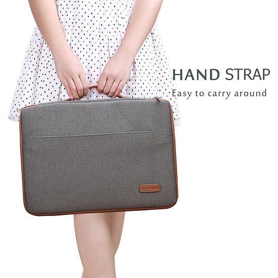 กระเป๋า upotimal Business Sleeve Case Cover for Macbook 15 inch- สีน้ำตาลเทา