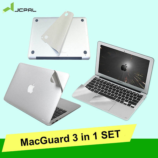 JCPAL ฟิลม์กันรอยตัวเครื่อง MacGuard 3 in 1 (Set Plamguard)
