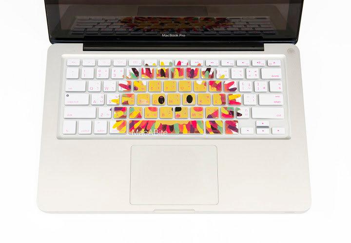 กันรอยคีย์บอร์ด ลายเม่น มีภาษาไทย-อังกฤษ MacBook