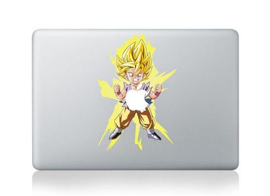 สติ๊กเกอร์ Apple Macbook Decal - Dragon Ball