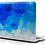Thumbnail: เคส Macbook ลาย paint Blue ไม่เจาะโลโก้
