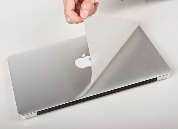 Macbook Guard ฟิลม์กันรอยตัวเครื่อง macbook สี Silver