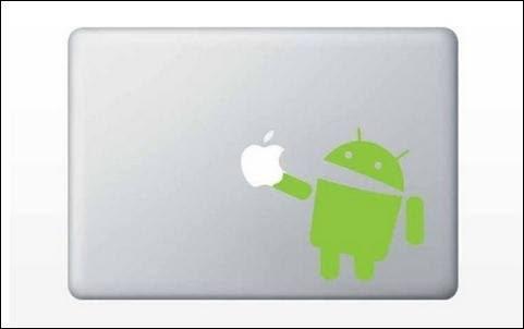 สติ๊กเกอร์ Apple Macbook Decal - Android