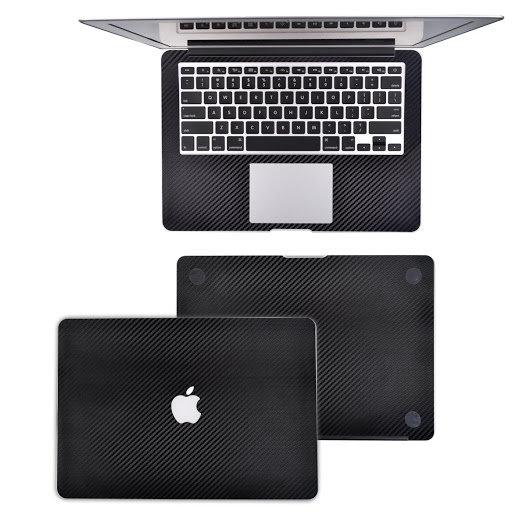 Macbook Sticker carbon fiber skill guard - สี Black