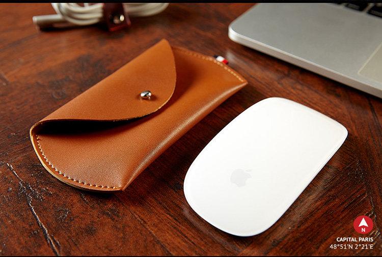 กระเป๋า,ซองหนังFrench Apple Magic Mouse