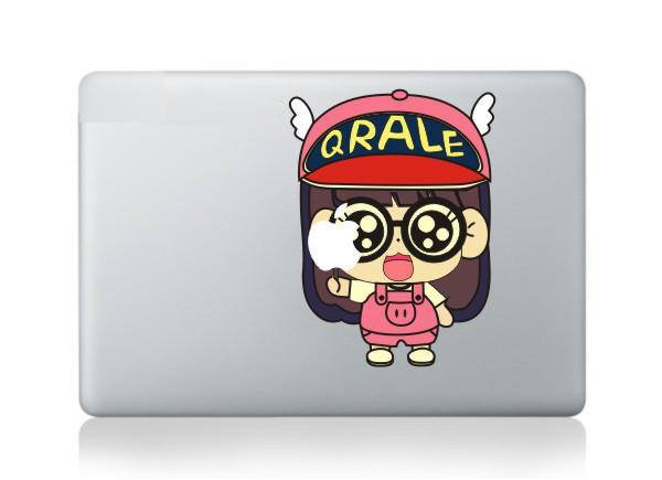 สติ๊กเกอร์ Apple Macbook Decal - Arare Chan