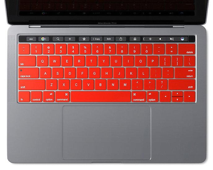 กันรอยคีย์บอร์ด ภาษาอังกฤษ MacBook touchbar