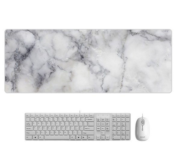 Marble Mousepad with Non-Slip Rubber Base Mice Pads
