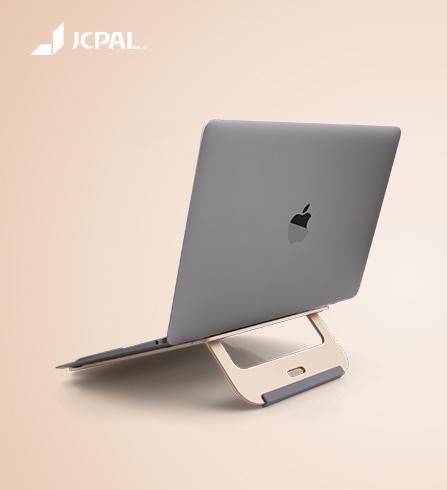 แท่นวางระบายความร้อน Macbook JCPAL Folding Aluminum Laptop Stand