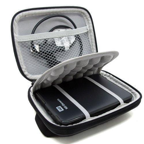 กล่องกันกระแทก สำหรับ External hard drive - สีดำ