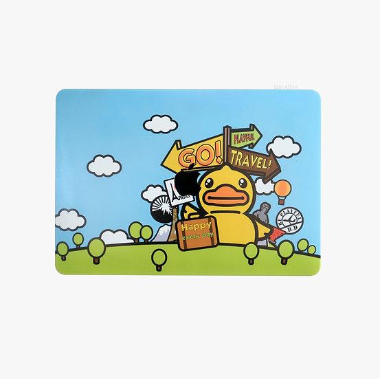 เคส Macbook ลาย D Duck GoGo เจาะโลโก้