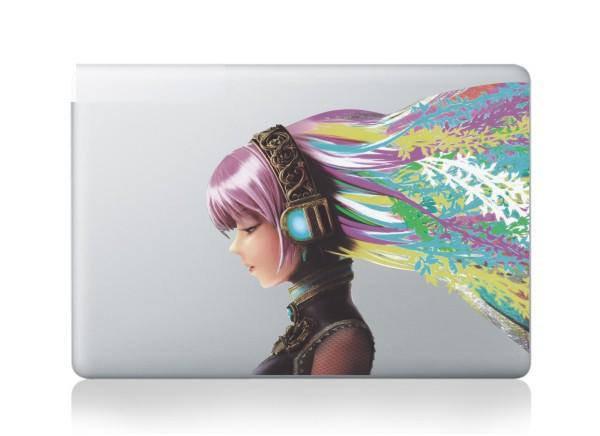 สติ๊กเกอร์ Apple Macbook Decal - Beauty