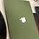 Thumbnail: เคส Macbook สีเขียวขี้ม้า เนื้อพ่นทราย เจาะโลโก้