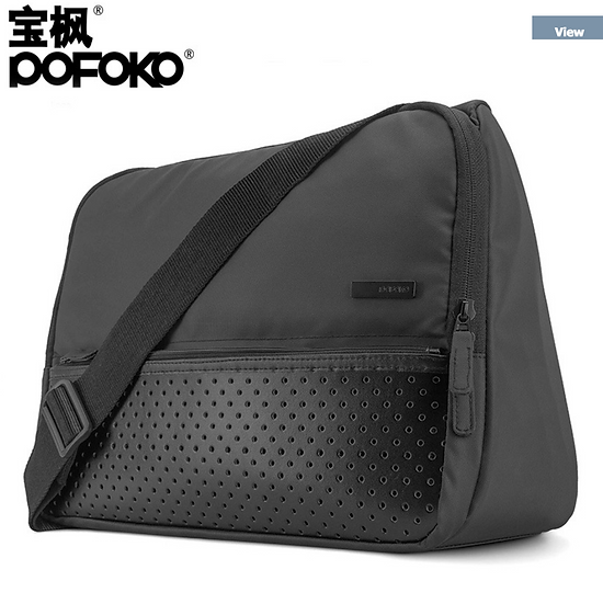 กระเป๋า Pofoko Brand casual shoulder bag macbook bag - 14 inch