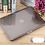 Thumbnail: เคส Macbook สีเทา ผิวมัน ไม่เจาะโลโก้