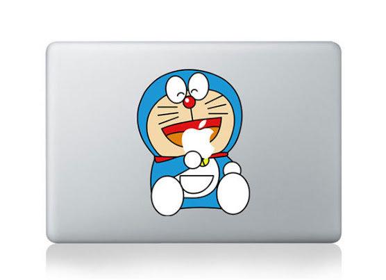 สติ๊กเกอร์ Apple Macbook Decal - Doreamon