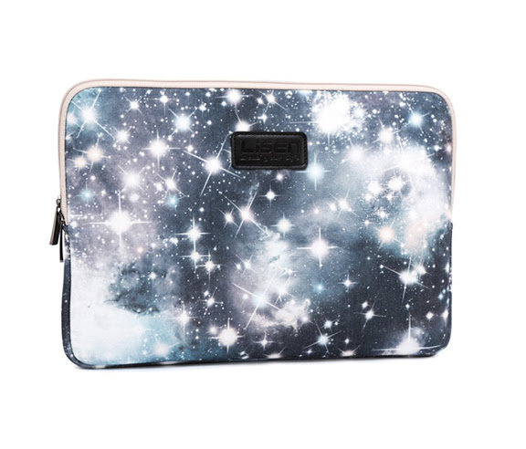 LISEN® Riverer Mysterious Grey Starry Sky Waterproof Canvas Fabric