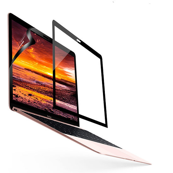 ibovder HD Screen ฟิลม์กันรอยหน้าจอ macbook แบบมีกรอบ