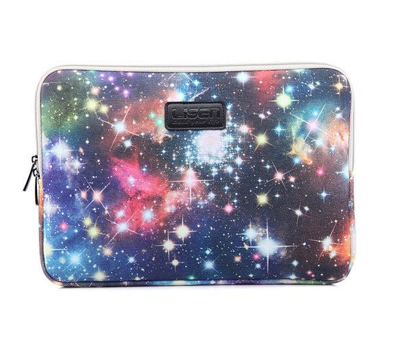 LISEN® Riverer Blue Starry Sky Waterproof Canvas Fabric