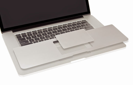 Trackpad PalmGuard protector Macbook - สี Silver